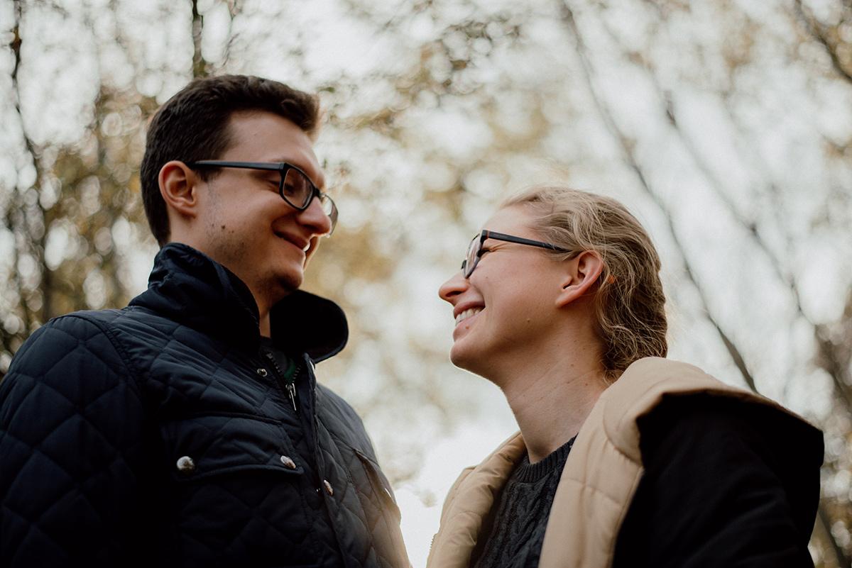 Dagmara i Mateusz w świetle reflektorów :)