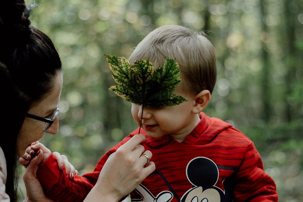 Spacer po lesie razem z Pauliną i Marcelem